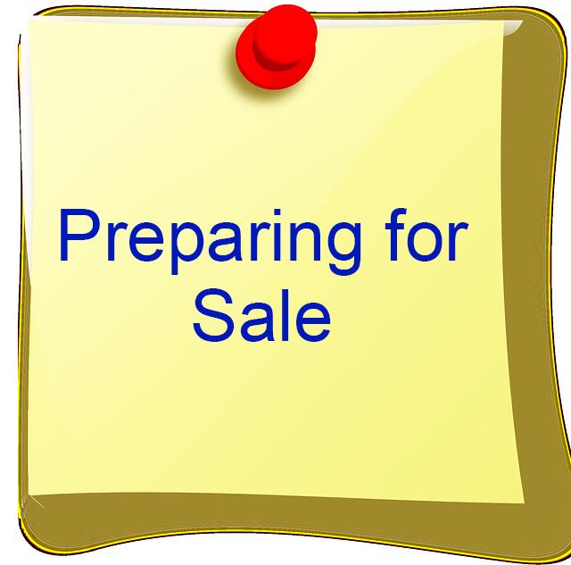 Preparing for sale