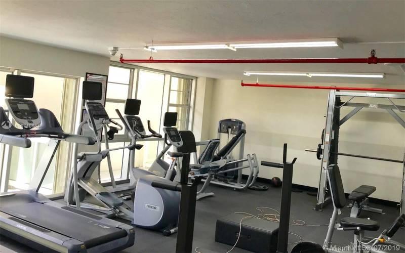 Brickell Townhouse Gym