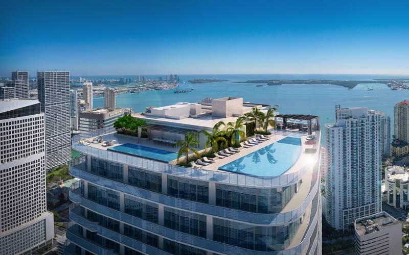 SLS LUX BRICKELL ,801 South Miami Ave, Miami, Florida 33130