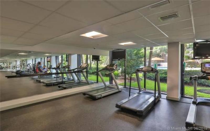 Brickell Key Two Gym